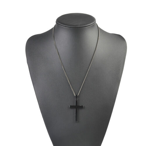 Gold Silver Cross Necklace Pendant Chain Fashion Jewelry Gift For Men Women New