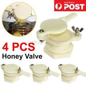 4X-Beekeeping-Extractor-Beekeeper-Bottling-Equipment-Nylon-Honey-Gate-Valve-AU