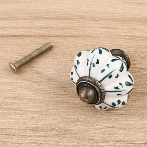Vintage Ceramic Drawer Knob Pull Handles Door Cupboard Cabinet Knobs
