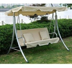 Outsunny-Garden-3-Seater-Swing-Chair-Hammock-Seat-Bench-2-Free-Cushions