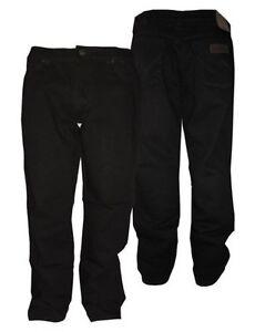 Extensible Pour Texas Jean 112cm En Taille Noir Wrangler Grand 42