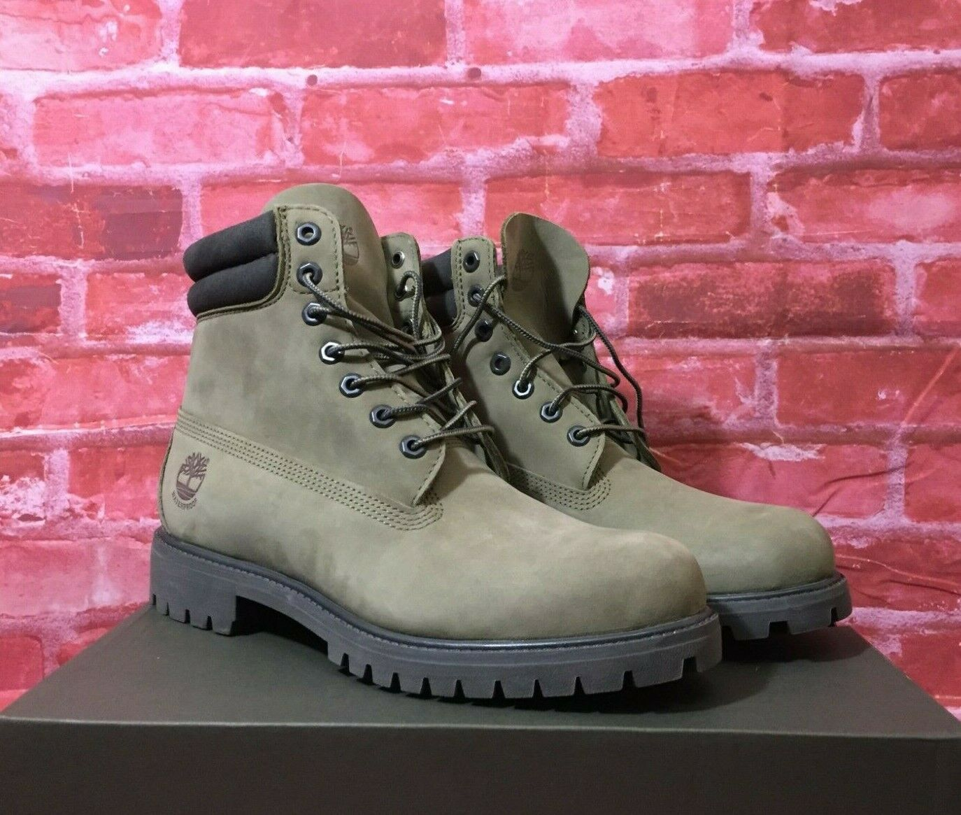 Bottes Homme Timberland 6 in Double Collar Waterproof