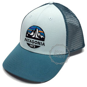 659a6b348 Details about Patagonia | Mens Fitz Roy Scope LoPro Trucker Hat | Atoll Blue