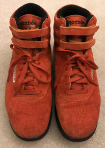 Reebok Classic Hi Top Sneakers Orange