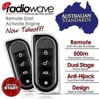 500meters Radiowave Keyless Entry & Remote Engine Auto Start Car Alarm System