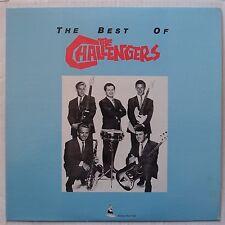 THE CHALLENGERS: Best of RHINO 80s VINYL LP surf instro HOT ROD NM-