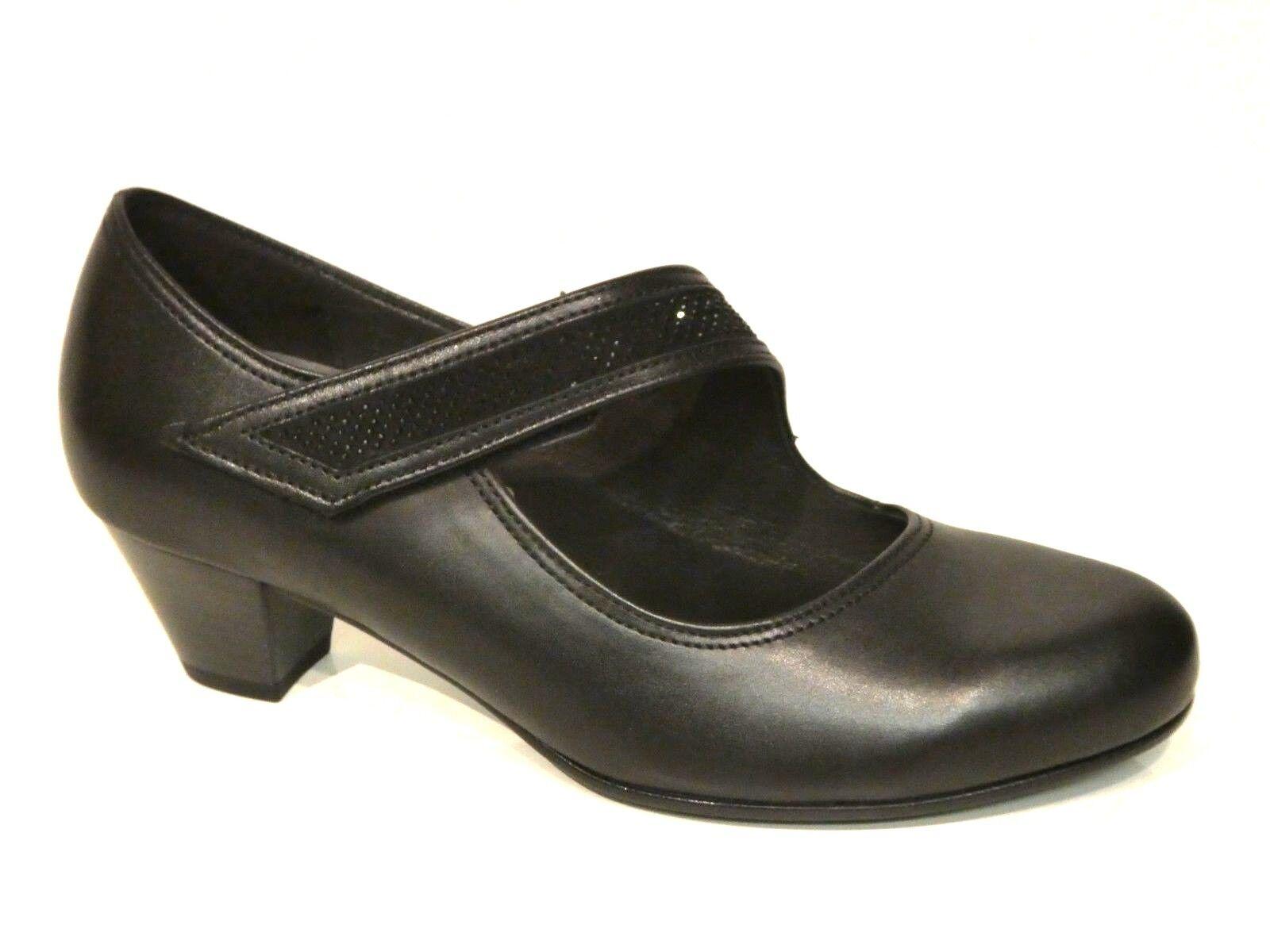 Pumps Damen Gabor Schuhe Pumps Schwarz Aus Leder Leder Durch