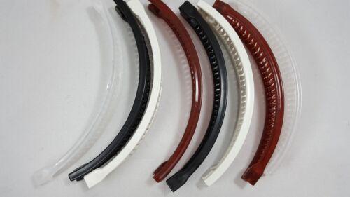 8 pcs Banana Hair Clip Claw Comb choose color  .