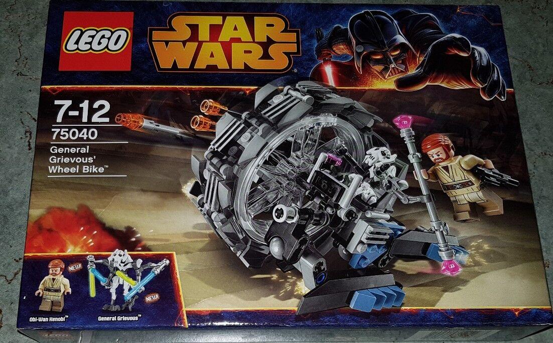 LEGO StarWars General Grievous' Wheel Bike (75040) Neu & Ovp