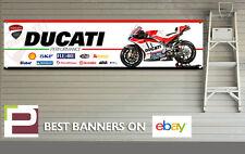 Ducati Corse Sponsor Logo Banner for Workshop, Garage, man cave, Jorge Lorenzo
