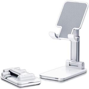 Telefono-CELLULARE-UNIVERSALE-IPAD-TABLET-STAND-REGOLABILE-iPhone-Desktop-Holder-Mount