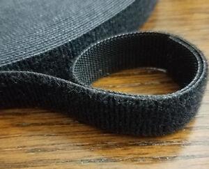"Velcro® One Wrap® Fire Retardant Hook and Loop Reusable Strap 5/8""x 12' Black"