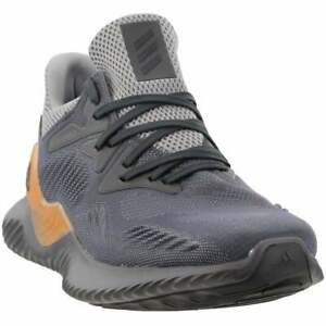 Zapatos De Entrenamiento Adidas alphabounce más allá Casual-Gris ...