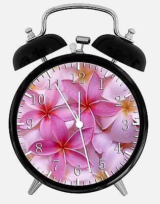 "100% Waar Beautiful Flowers Alarm Desk Clock 3.75"" Home Or Office Decor E115 Nice For Gift Geweldige Prijs"