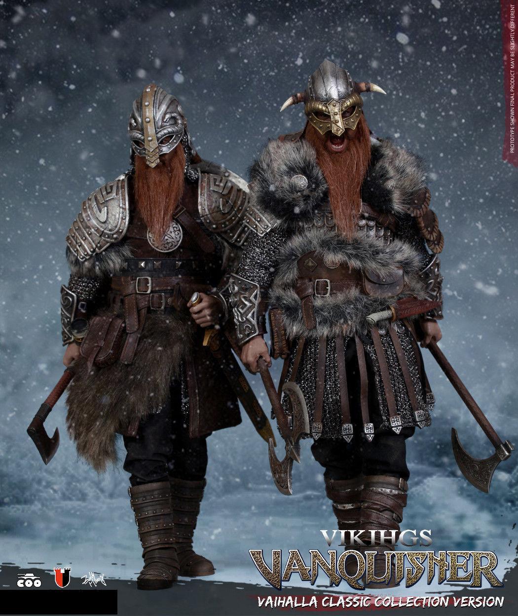1 6 COOMODEL SE019 Viking invicto Berserker Solider Figura full set