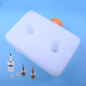 5L White Plastic Parking Heater Fuel Tank Fit for Webasto Eberspacher heaters