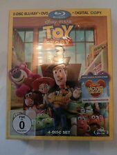 Toy Story 3 Blu-ray exklusiv Erstauflage Pappschuber OOP Neu&OVP