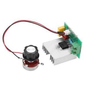 SCR Régulateur de tension gradateur 4000 W 220 V AC Power Régulateur De Vitesse Moteur Contrôle
