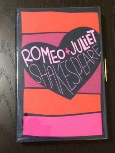 NEW Kate Spade Romeo and Juliet Book Clutch Purse Handbag  SOLD OUT