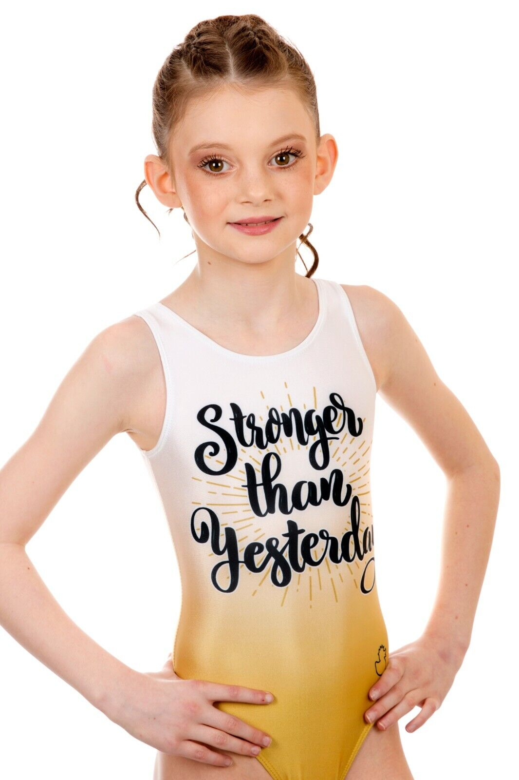 Girls Gymnastics Lyrca Leotard Ballet Dance Bodysuit Sleeveless Outfit 3-16Y