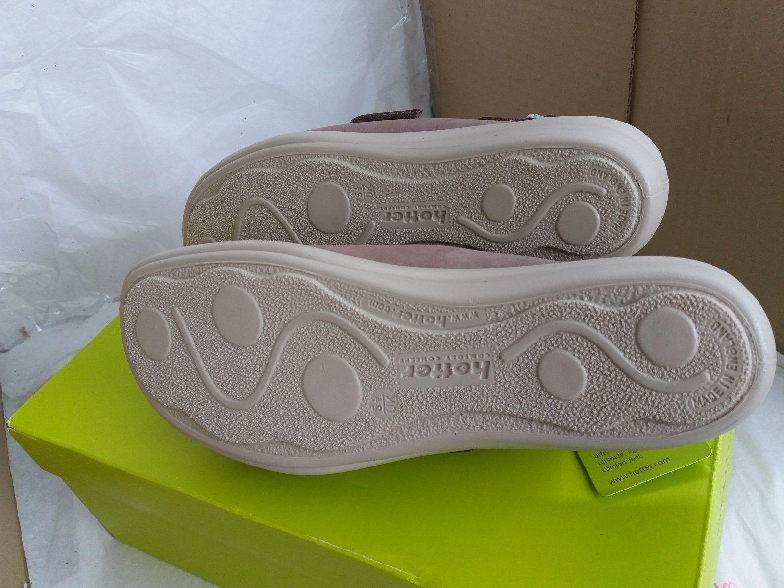 Hotter Easy Sandale - Nubuck Upper- Truffle - Größe UK 5.5/EU 38.5