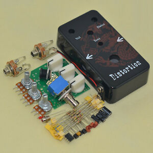 diy distortion guitar effect pedal kits ds 1 guitar effect pedal with 1590b box ebay. Black Bedroom Furniture Sets. Home Design Ideas