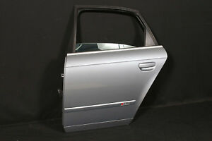 Audi-RS4-8E-B7-Limo-beschaedigte-Tuer-hinten-links-HL-Avussilber-damaged-door-L