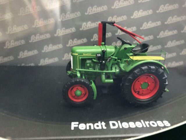 Fendt Dieselross F20 mit Beifahrersitz 1955 Traktor Schlepper grün green 1:43 Sc