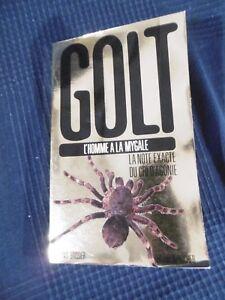 Libro Novela Golt L Hombre a La Tarántula Por Boissier En 1993