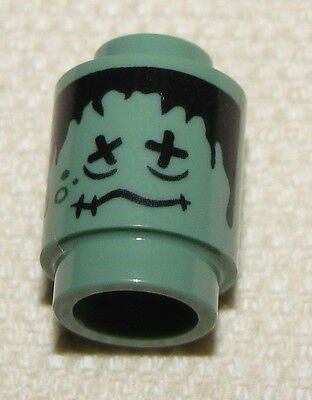 LEGO HARRY POTTER SHRUNKEN HEAD FROM SET 4866 GEEN MINIFIG HEAD NEW