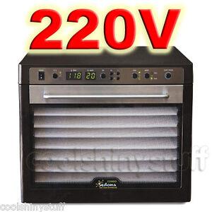 Tribest-Sedona-Combo-SD-P9150-220V-240V-Raw-Food-Deghydrator-9-Trays-BPA-Free