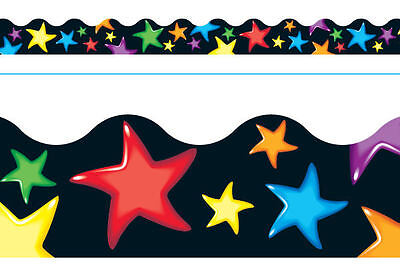 11.8 meters Great For Notice Boards Rainbows /& Stars Classroom Display Trim//Borders