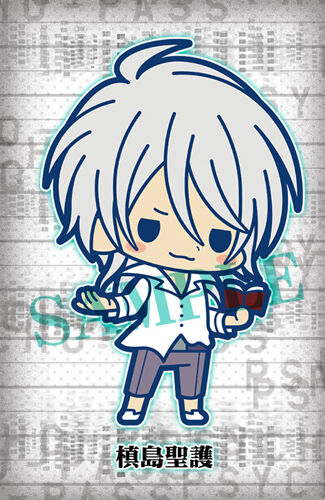 Psycho-Pass Makishima Shogo Rubber Phone Strap NEW
