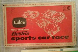 Image Is Loading Vintage 1959 Tudor Electric Sports Car Race In