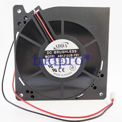 for ADDA AB1212UB-Y01 12V 1.10A 12CM 12032 blower cooling fan