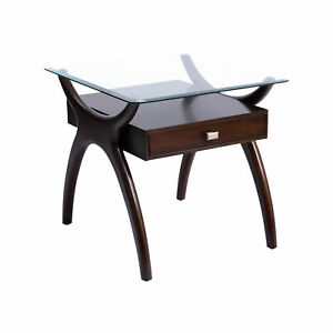 Dark Cherry Stain Side Table 16975
