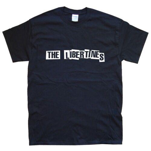 White THE LIBERTINES T-SHIRT sizes S M L XL XXL colours Black