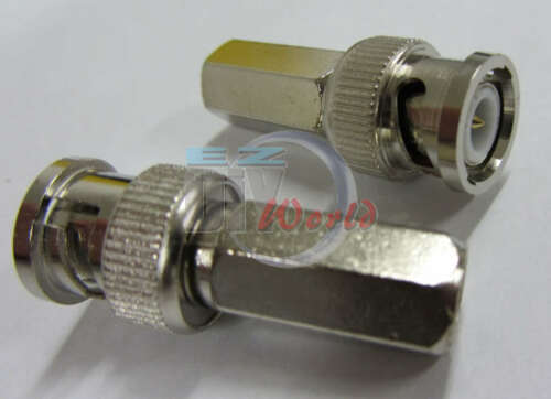 20 BNC male twist-on connectors RG59 coax cable plugs