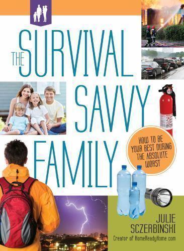 Survival Savvy Family : Food/Water Storage/ Kit / Safety *NE