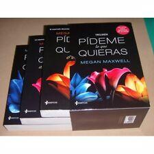 trilogia pideme lo que quieras by Megan Maswell , en español , paperback