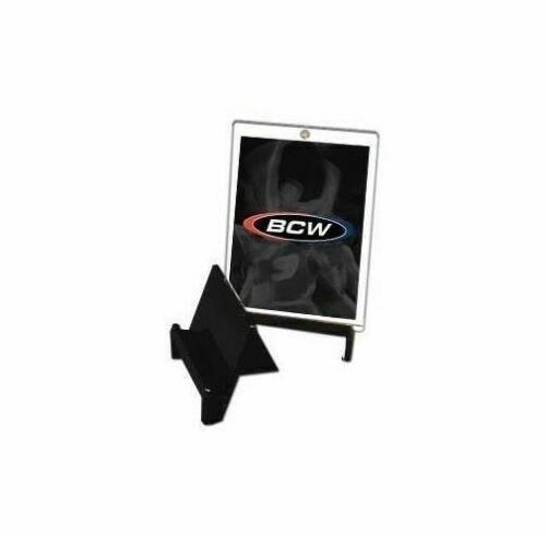 BCW Brand Baseball Card Stand Holder Display-Black NEW 25 Count