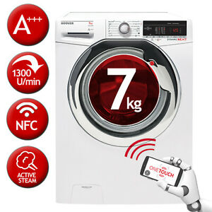 Waschmaschine Frontlader Raumspar-Waschmaschine A+++ HOOVER DXOA4 37AC3/1-S 7kg