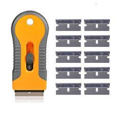 Metall Schaber mit 10x Ersatzklingen Razor Scraper CN056