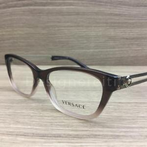 2499fdab81f62 Versace Mod 3220 Eyeglasses Brown Gradient Gold 5165 Authentic 52mm ...