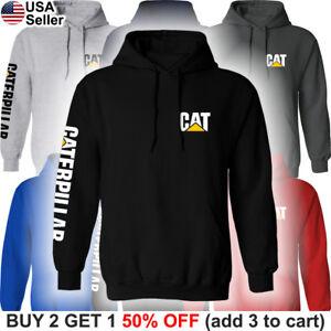 Caterpillar-Hoodie-Sweatshirt-Sweater-Shirt-CAT-Construction-Equipment-Chest
