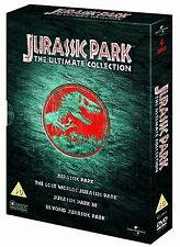 Jurassic Park: The Ultimate Collection (Films 1-3) - UK Region 2 DVD Box Set