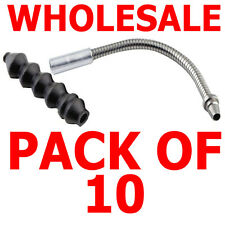 WHOLESALE PACK OF 10 V BRAKE FLEXIBLE PIPE + RUBBER BOOT SUITS FRONT OR REAR