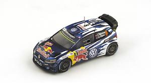 Garantía 100% de ajuste Volkswagen Volkswagen Volkswagen Polo R WRC Motorsport 3nd Monte Cochelo 2015 1 43 S4507 Spark  tiendas minoristas