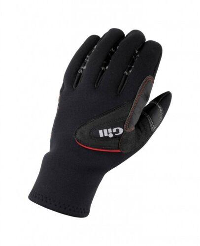 Gill Unisex Segelhandschuhe 3 Seasons Gloves wärmend lange Manschette vorgeformt Bekleidung Handschuhe