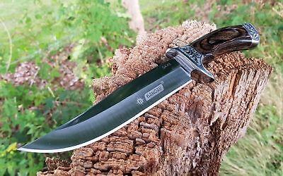 Kandar Premium Jagdmesser Buschmesser Messer Knife Coltello Couteau Hunting Weich Und Rutschhemmend
